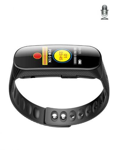 Bracelet micro espion enregistreur vocal