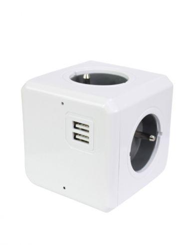 Caméra espion dans multiprise cube...