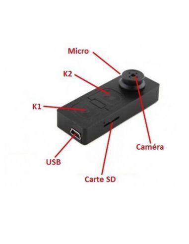 MP3 caméra espion