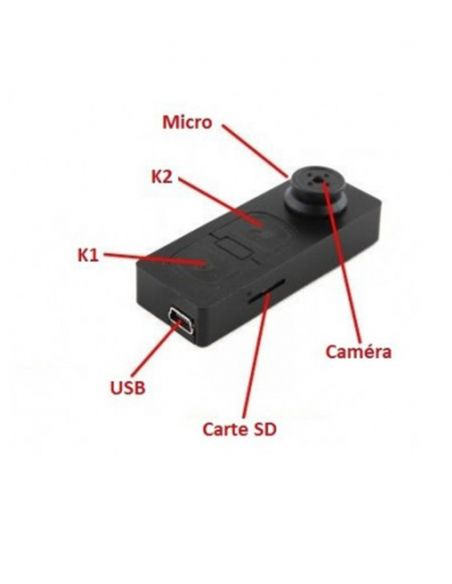 Mini lecteur MP3 caméra espion