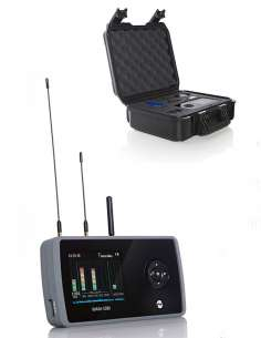 Détecteur de Mouchard cellulaire 2G 3G 4G 2.4GHz et 0-14GHz WAM108