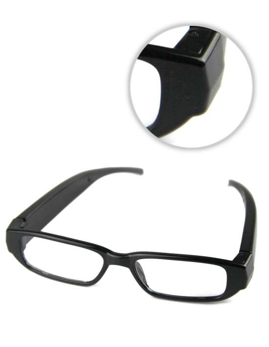Lunettes Full HD Caméra espion INVISIBLE