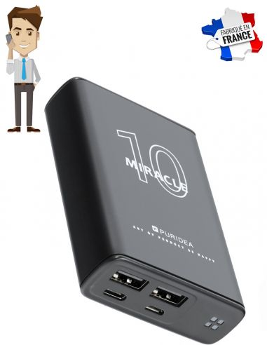 Micro GSM Batterie de secours noir...