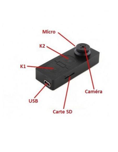 Micro GSM Caméra et dictaphone