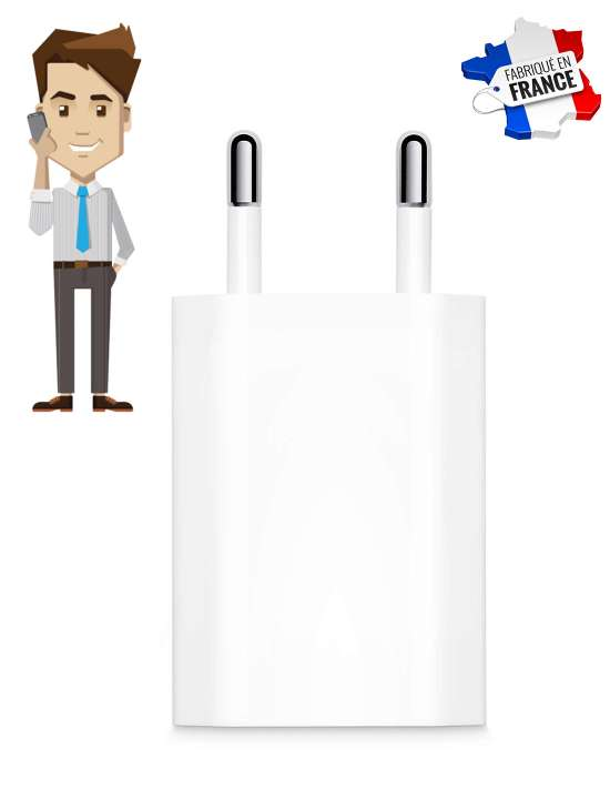 Chargeur iPhone micro espion GSM