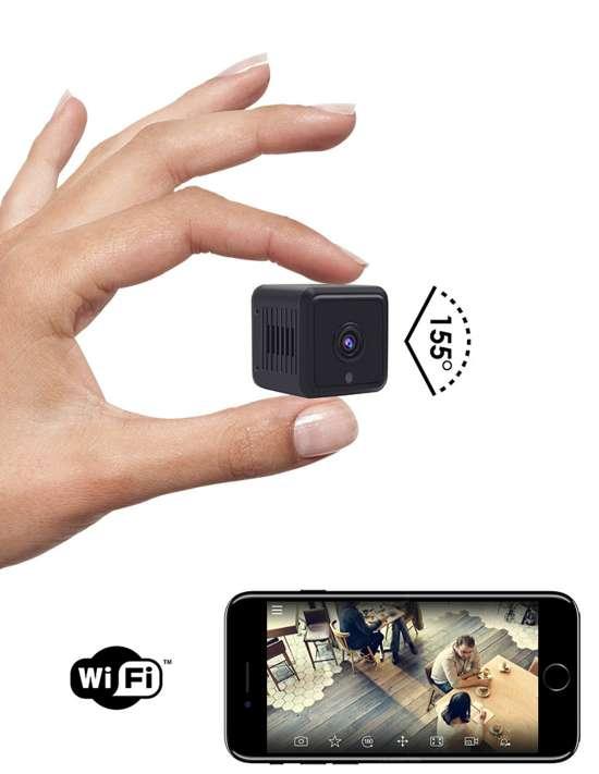 Mini caméra WiFi Full HD - Vision à...