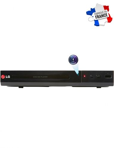 Lecteur DVD avec caméra espion WIFI...