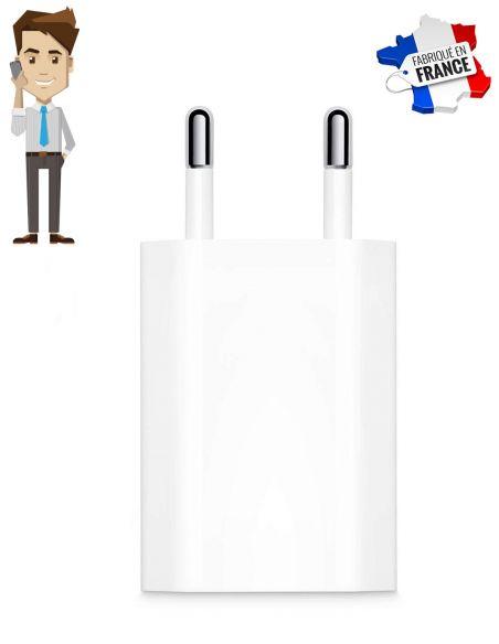 Chargeur iPhone micro espion GSM, image de couverture