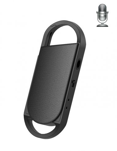 Porte clé dictaphone espion -...