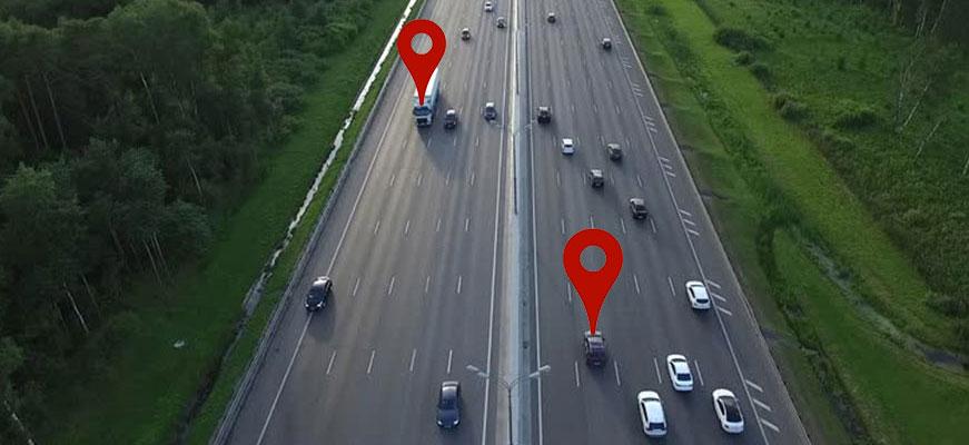 Tracking GPS sur maps : traceur gps, tracker gps, balise GPS